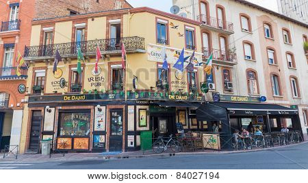 De Danu Irish Pub In Toulouse