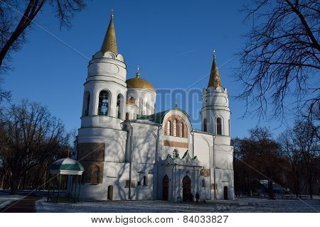 Saviour-transfiguration Cathedral Of Chernihiv