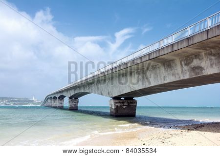 Sea and bridge