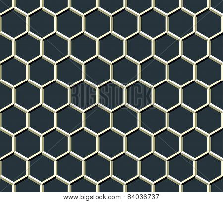 Grid Of Hexagons
