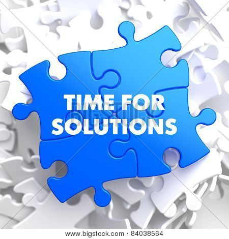 Time for Solutions on Blue Puzzle.