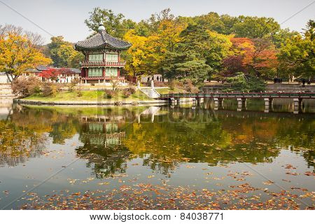 Gyeongbokgung Palace in Autumn