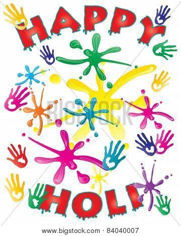 Holi Card