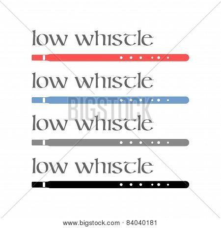 Irish Low Whistles
