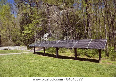 Electricity Generating Solar Panels