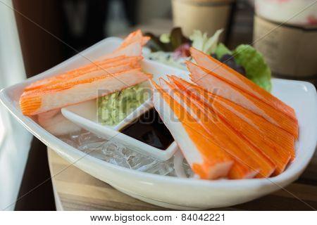 Crab Stick, Japanese Food