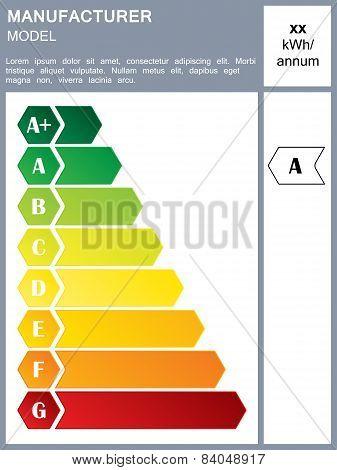 Energy Efficiency Rating Label