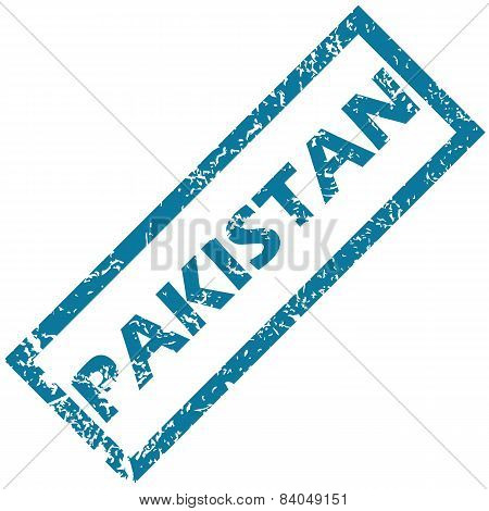 Pakistan rubber stamp