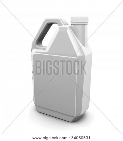 Plastic Canister For Engine Oil
