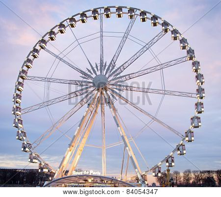 Paris Ferries Wheel, France