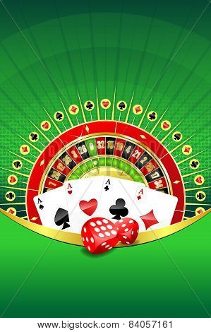 Abstract Background With Gambling Elements