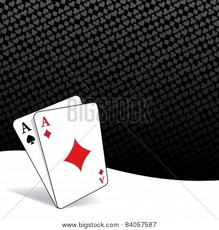 Stylized Poker Background