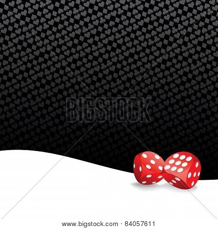 Stylized Gambling Background