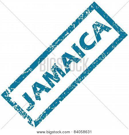 Jamaica rubber stamp