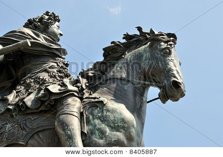 King Freidrich on Horse Statute