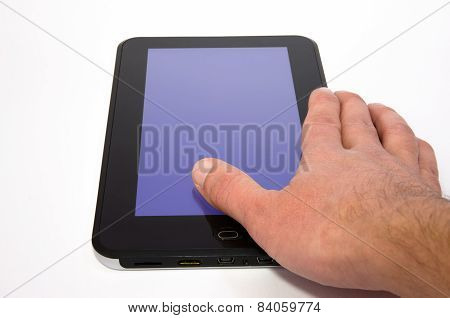 Tablet with backlight