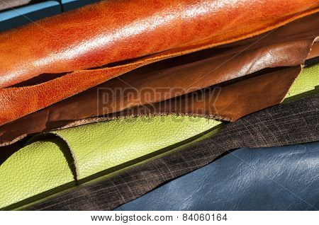 Color leather rolls