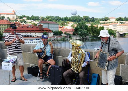 Band In Prague