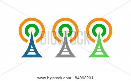 Radio Towers In Ireland