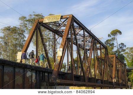 Railroad Bridge in Northern California