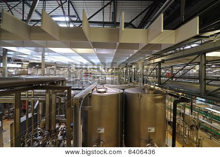 Bottling Plant Interior