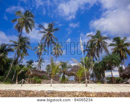 Nungwi Beach At Zanzibar