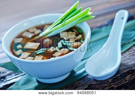 Soup In Bowl