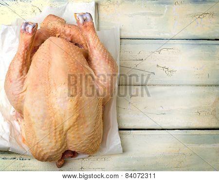 Fresh, Crude Farmer Chicken
