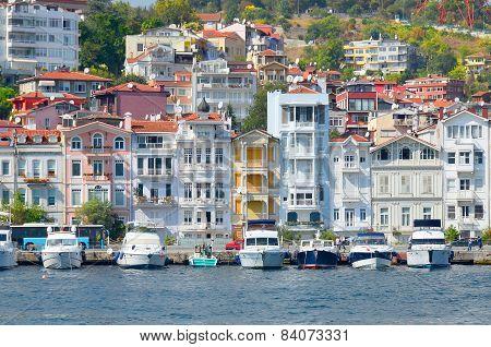 Galata Karakoy quarter of Istanbul