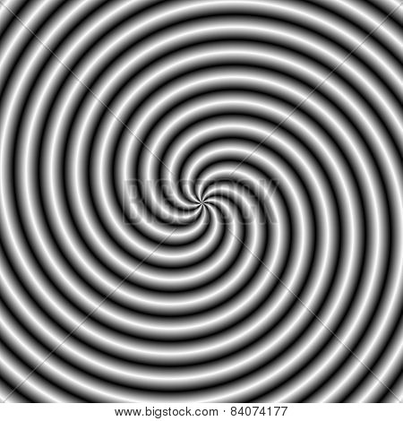 The Swirl In Black And White