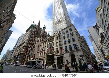 Fifth Avenue in Midtown Manhattan, New York City