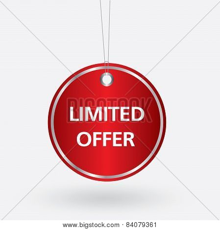 red oval limited offer