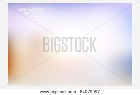 blur colorful background. vector design template.