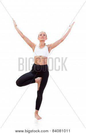 Sport Series: Yoga. Tree Pose
