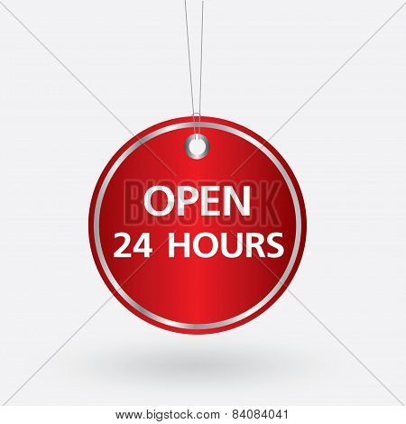 red oval opening 24 hours