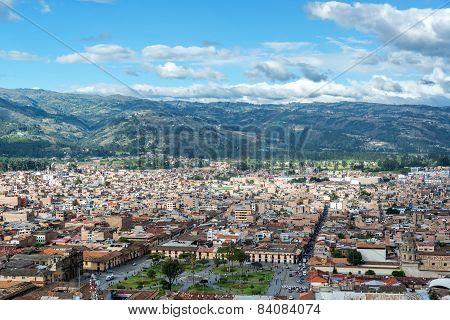 Cajamarca, Peru Cityscape