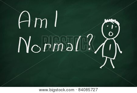 And Write Am I Normal