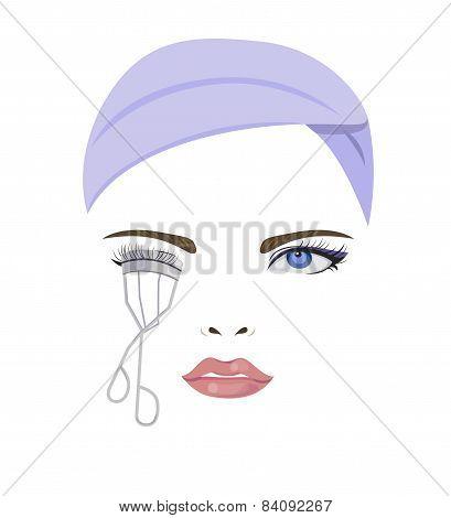Bend Eyelash