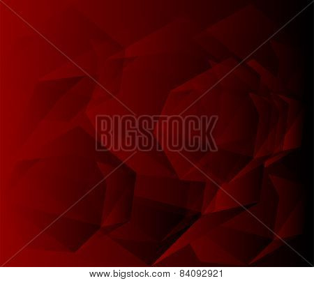 Dark red Geometric background