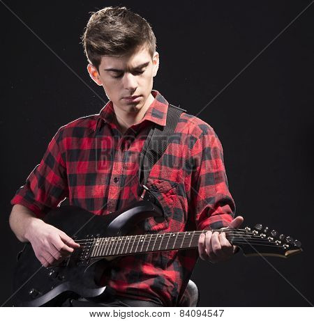 Man With Guitar