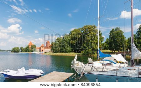 Lithuania. Trakai.