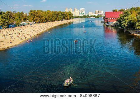 River in Kiev