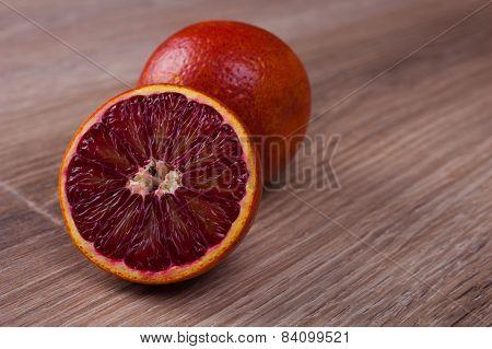 Red Blood Sicilian Orange Whole And Half