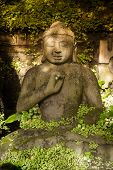 picture of stone sculpture  - Bali - JPG