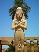 foto of pharaohs  - Statue symbolizing the pharaoh after his death - JPG
