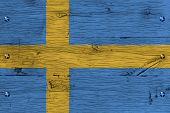 foto of sweden flag  - Kingdom of Sweden Swedish national flag - JPG
