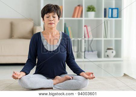 Lotus Position