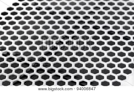 PC case ventilation grille
