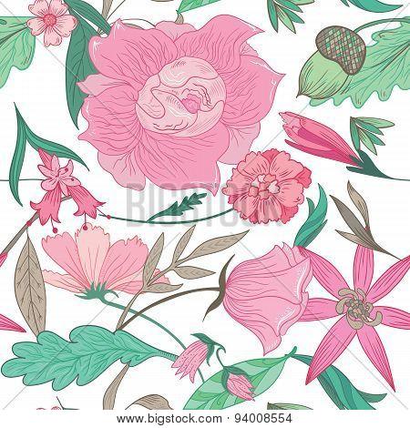Floral Summer Pattern