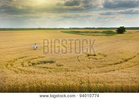 Rural Landscape Of Fertile Land
